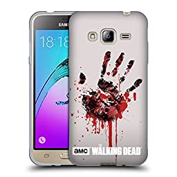 Official AMC The Walking Dead Hand Silhouettes Soft Gel Case for Samsung Galaxy J3