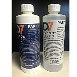 Decon7 Multi-Use Disinfectant eradicates bacteria, viruses, molds, spores, and odors - along with chemical and biological weapons.