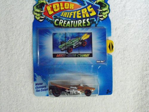 Hot Wheels Color Shifter Creatures ~ Croc Rod ~ Colors Vary