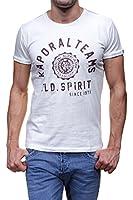Kaporal - T-shirt - Uni - Col ras du cou - Manches courtes - Homme