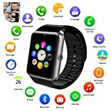 Kids Boys Smart Phone Watch ,With Camera Multifunction Bluetooth Smart Watch With SIM Card Slot,Alarm clock, Calculator, SMS Calling Remind,Support Samsung Android (Without A SIM card)GT08 (Color: silver)