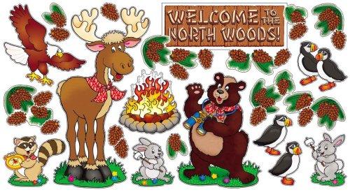 Scholastic Teacher'S Friend Arctic North Woods Bulletin Board (Tf3133)