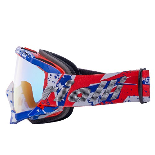 rialli lunettes de protection de visage pour moto cross ext rieur activit vtt ski. Black Bedroom Furniture Sets. Home Design Ideas