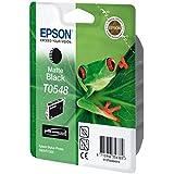 Epson T0548 Cartouche d'encre d'origine noire mate pour R800 / R1800