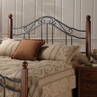 Hillsdale Furniture 1010HK Madison Headboard, King, Textured Black
