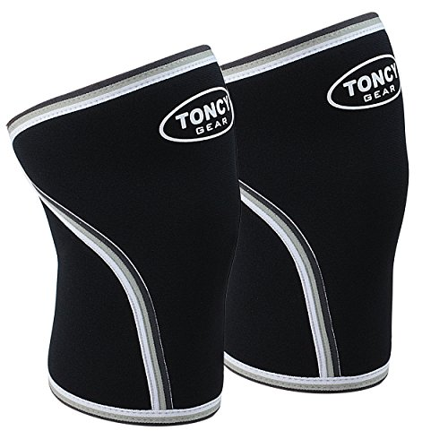 1-Pair-Knee-Sleeves-Premium-Quality-7mm-Neoprene-Compression-Knee-Support-Sleeve-For-Squatting-Workout-bodybuilding-Weight-Lifting-Powerlifting-Crossfit-For-Both-Men-Women-Gym-Fitness-Gear-From-Toncy-