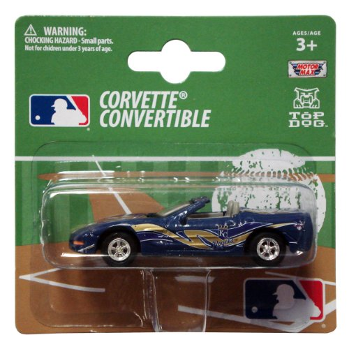 MLB Kansas City Royals 1:64 Scale Corvette Diecast Replica