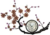 Lulu Decor, Hanging Branch Wall Clock, Fram Size 21 , Perfect for Housewarming Gift.