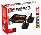 ATARI FLASHBACK 3 Plug & Play System w/ 60 Built-In Games & 2 Controllers