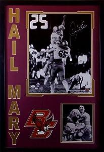 Hail Mary Doug Flutie Framed 16x20 Photo Signed JSA COA Autographed Boston College