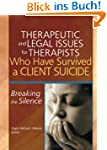 Therapeutic and Legal Issues for Ther...