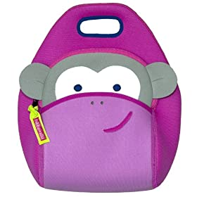 Dabbawalla Bags Lunch Bag脸红猴子午餐袋$28.99第三方