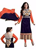 RND Creation Rakhi Gift Fenta Georgette Semi-Stitched Salwar Suit