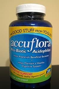 Accuflora- Probiotic Acidophilus Dietary Supplement, 240 Caplets