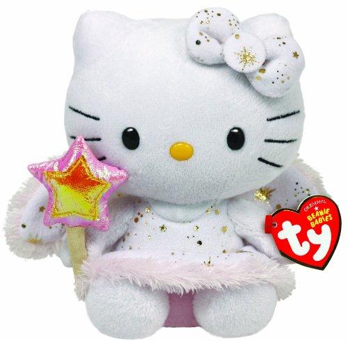 Imagen de Ty Beanie Baby Hello Kitty Gold Angel