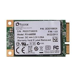 Lite On Plextor M5M PX-64M5M 64GB mSATA Solid State Drive
