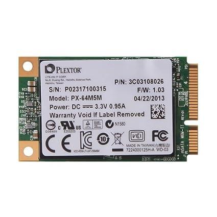 Plextor-(PX-64M5M)-64GB-mSATA-6Gbps-Internal-SSD