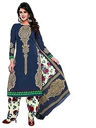 AMP IMPEX EthnicwearWomen's Dress Material(KOMALSPL6017_Grey_Free Size)
