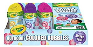 Crayola Colored Bubbles 15ct Outdoor Play Pack
