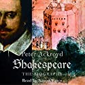 Shakespeare: The Biography Audiobook by Peter Ackroyd Narrated by Simon Vance