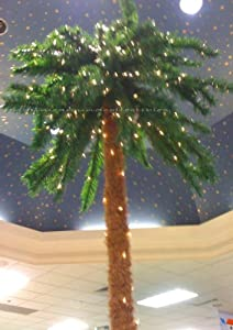 #!Cheap 7 Foot Lighted Palm Tree - 300 Lights - Indoor / Outdoor []