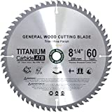 Concord Blades WCB8250T60-P  TCT General Purpose 8-1/4-Inch 60 Teeth Hard and Soft Wood Saw Blade with DM5/8-Inch Arbor