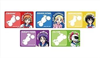 ばくおん!!高発光ステッカーセット(全5種)