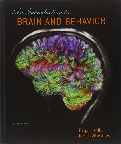 Unixqua An Introduction To Brain And Behavior Fourth Edition By