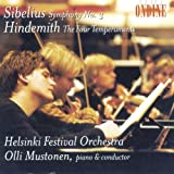 Sibelius: Symphony No. 3; Hindemith: The Four Temperaments