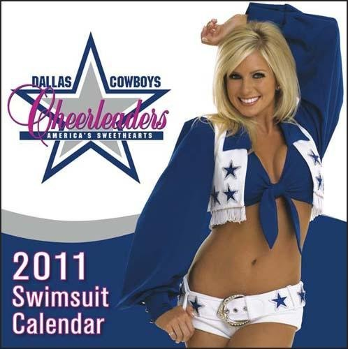 Dallas Cowboys Cheerleaders 2011 Desk Calendar at Amazon.com
