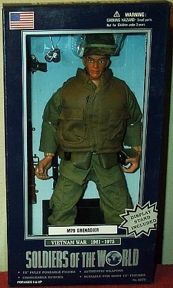 Buy Low Price Formative International Soldiers of the World Desert Storm M79 Grendadier 12″ Poseable Figure (B000NKU25K)