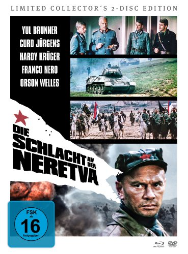 Die Schlacht an der Neretva (Limited Collector's 2-Disc Edition) [Blu-ray+ Dvd]