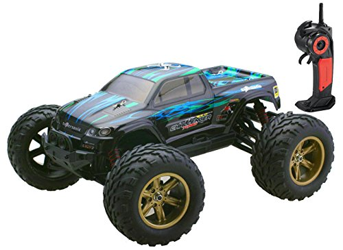 Bo Toys 1/12 Scale Electric RC Car Offroad 2.4Ghz 2WD High Speed 35 MPH Remote Controlled Truck Car