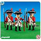 3 British Redcoat Soldiers