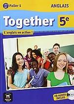 Anglais 5e Together A1+/A2 Palier 1 : L'anglais en action ! (1CD audio)