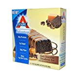 Atkins Advantage Bar Dark Chocolate Decadence -- 5 Bars