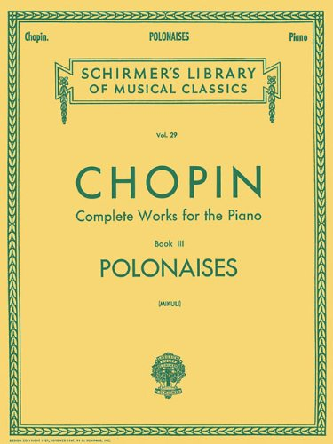 Image for Polonaises: Piano Solo