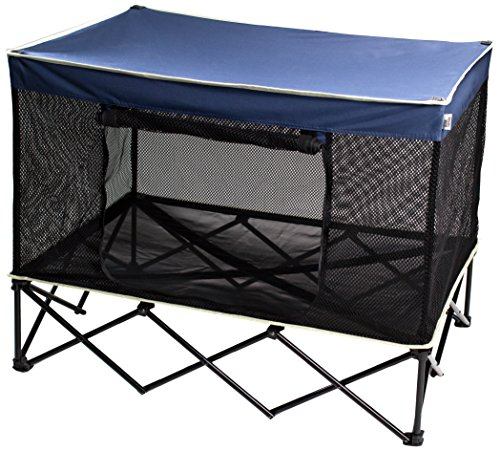 New large raised dog bed elevated covered cot outdoor - Outdoor dog beds with canopy ...