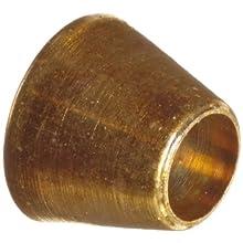 Parker A-Lok 1FF1-B Brass Compression Tube Fitting, Front Ferrule, Tube OD