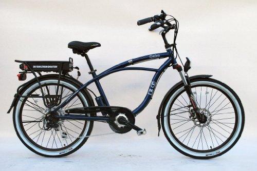 EG Oahu Electric Bike - Glossy Metallic Midnight Blue.