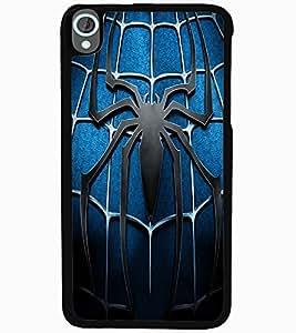 ColourCraft Spider Design Back Case Cover for HTC DESIRE 820