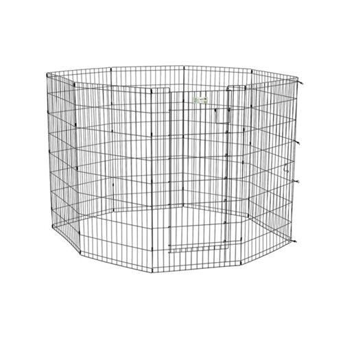 Life Stages Exercise Pen With Door 24'' X 30'' 8 Panels