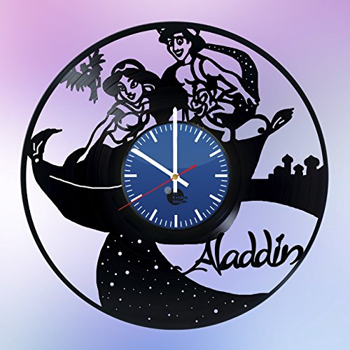 Aladdin-Disney-Vinyl-Record-Wall-Clock-Get-unique-living-room-wall-decor-Gift-ideas-for-womenbabyfriend-Unique-movie-art-design-Leave-us-a-feedback-and-win-your-custom-clock