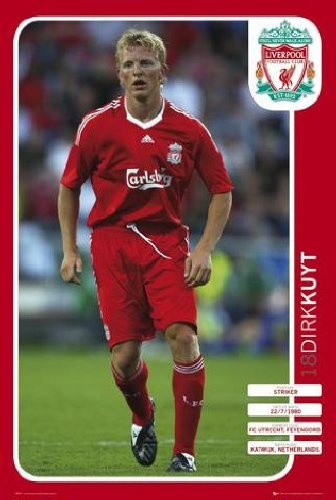 Liverpool FC - Dirk Kuyt 08/09 - Maxi Poster - 61 cm x 91.5 cm