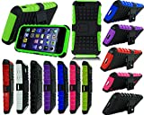 NEW BUILDER SHOCK PROOF PHONE CASE FOR SAMSUNG GALAXY ACE 4 G357 + SCREEN GUARD