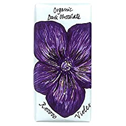 Violet Dark Chocolate Floral Bee Bar