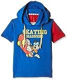 Kidsville Boys' T-Shirt (MF1TB06_Multi_5 - 6 years)Combo Tee pack of 2