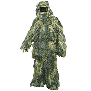 Ghillie Suit Sniper/paintballing/hunting 3d Camo M/l by OV