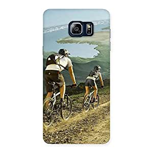 Cute Bycycle View Back Case Cover for Galaxy Note 5