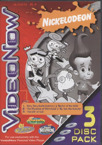 VIDEO NOW- NICKELODEON.- THE FAIRY ODDPARENTS, JIMMY NEUTRON, THE WILD THORNBERRYS - 1